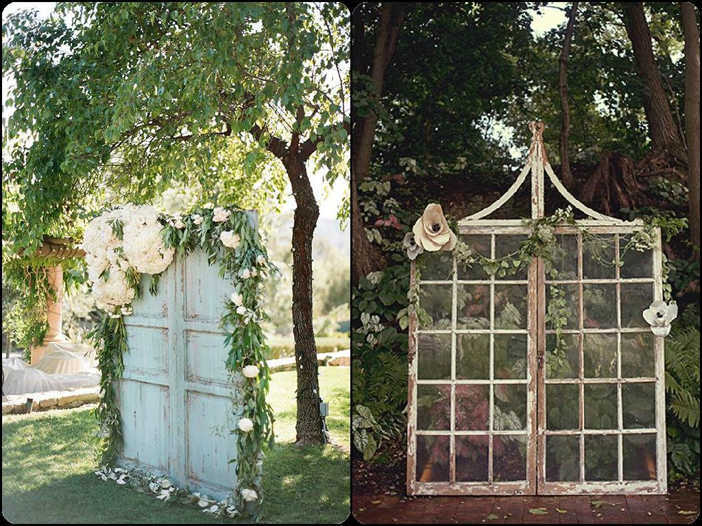 Altares con puertas