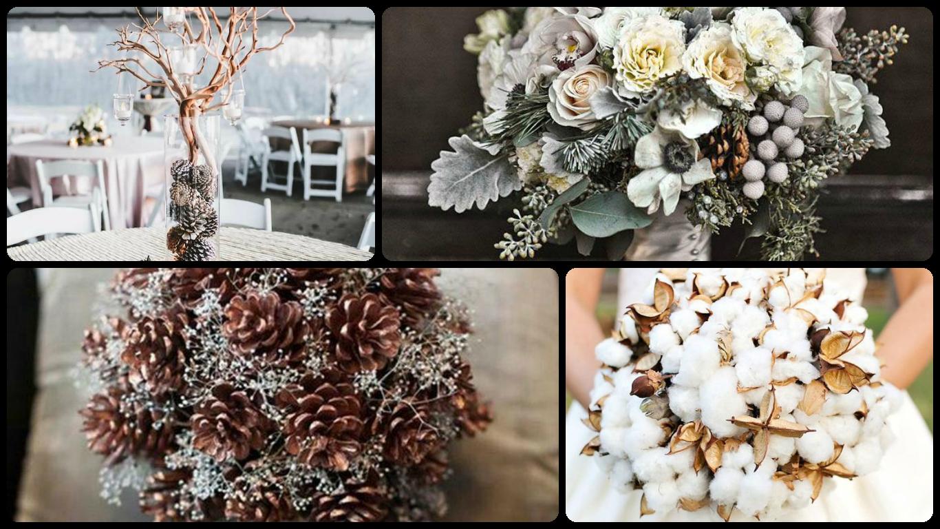 Winter weddings flowers