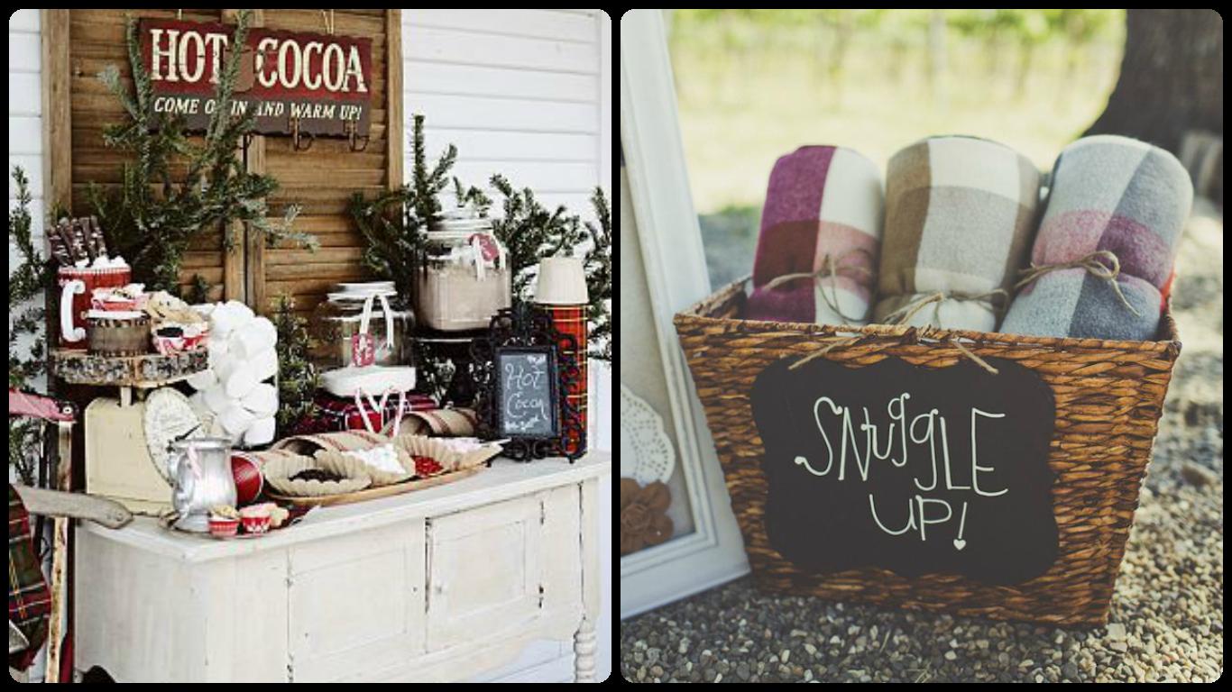 Winter ideas weddings