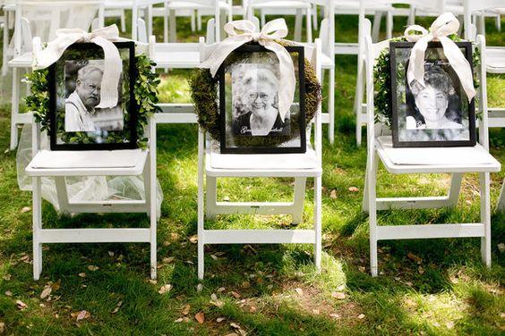 En honor a los muertos boda