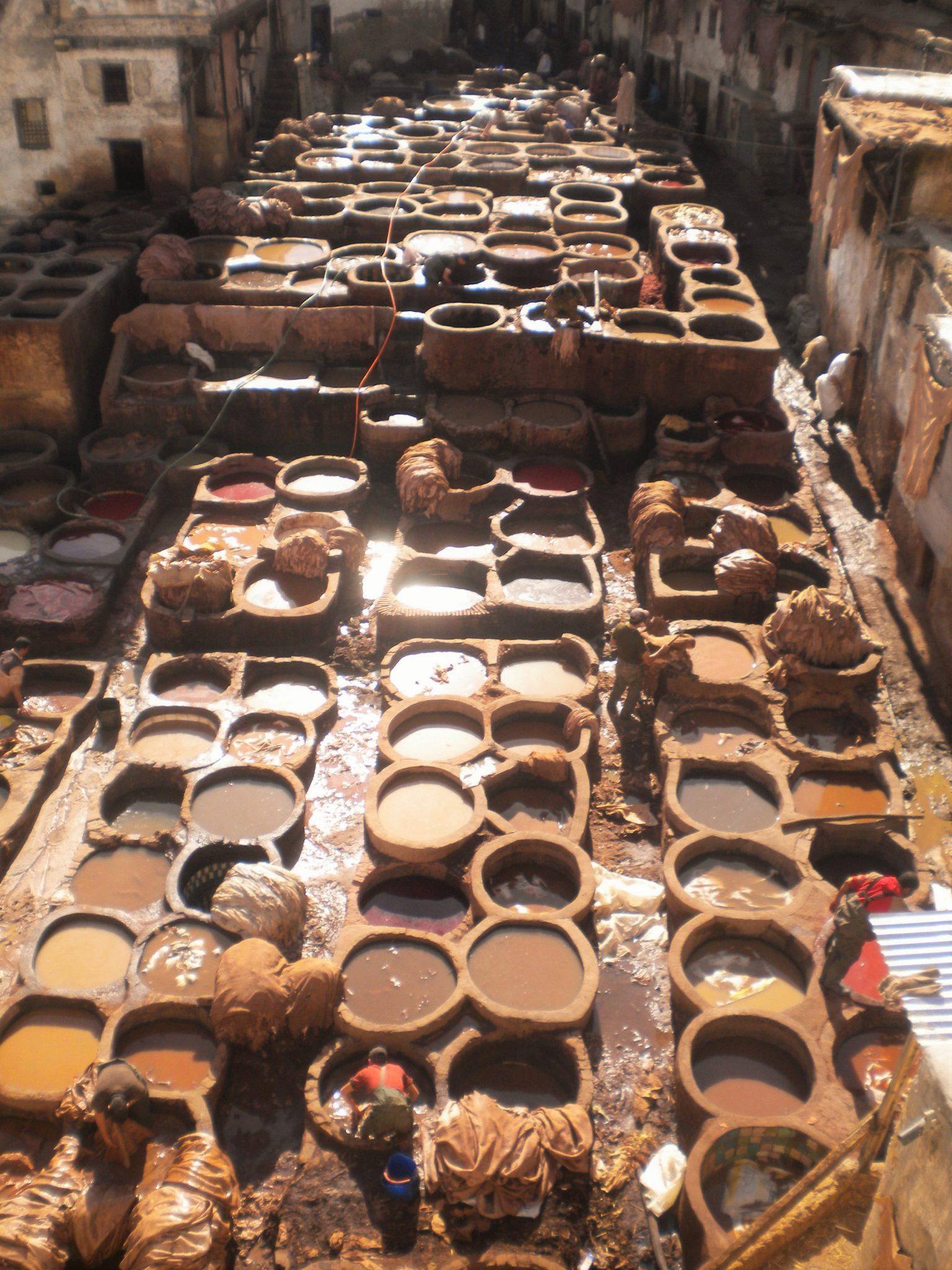 Mercado de Fez, Marruecos