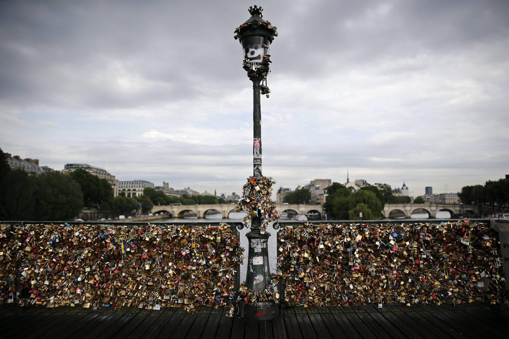 París y sus candados del amor