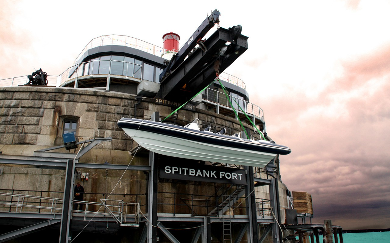 Spitbank Fort Inglaterra