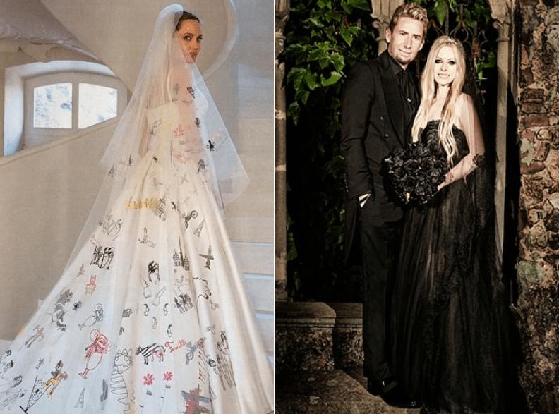Vestidos-A.-Jolie-y-A.-Lavigne
