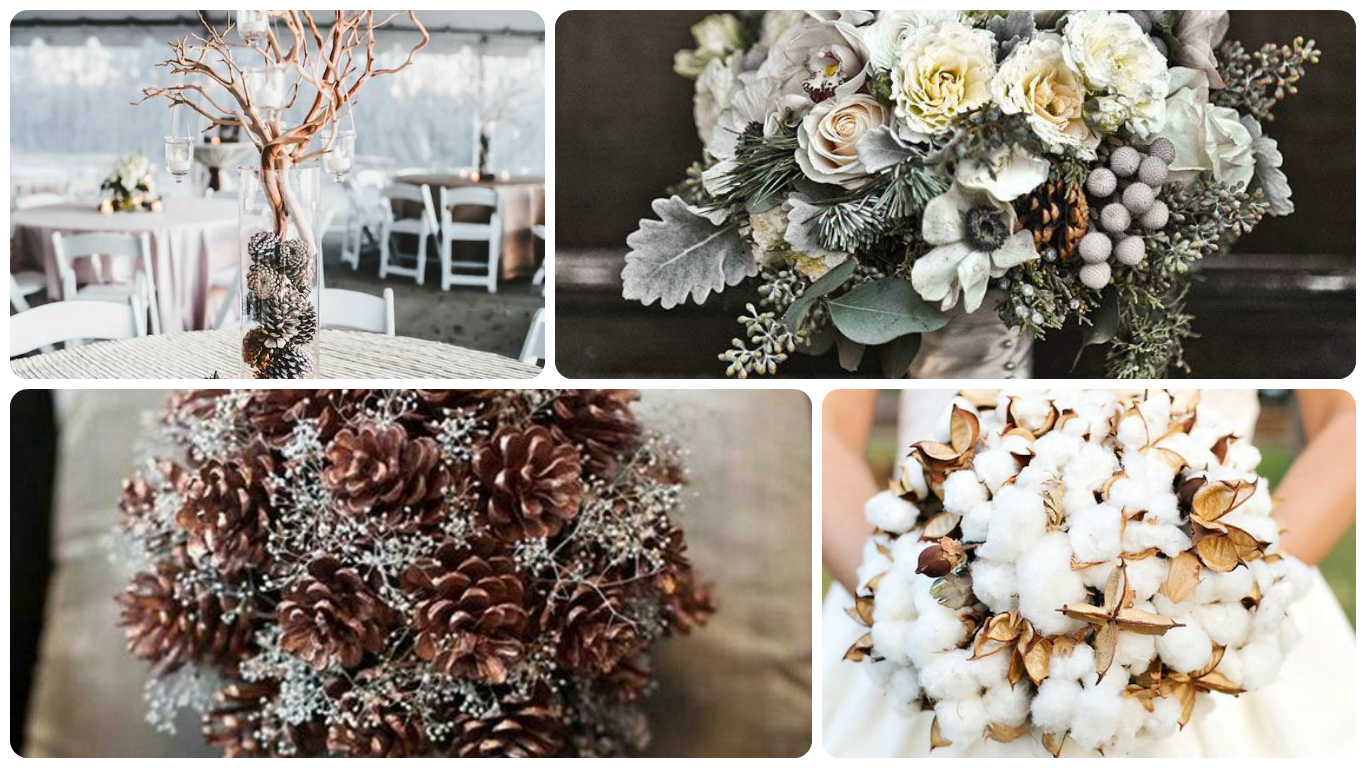 Winter weddings flowers