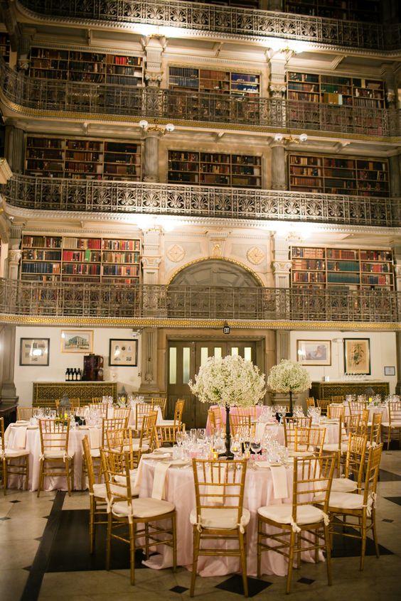 Espacios de boda literarios