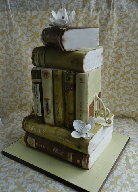 Tarta libros