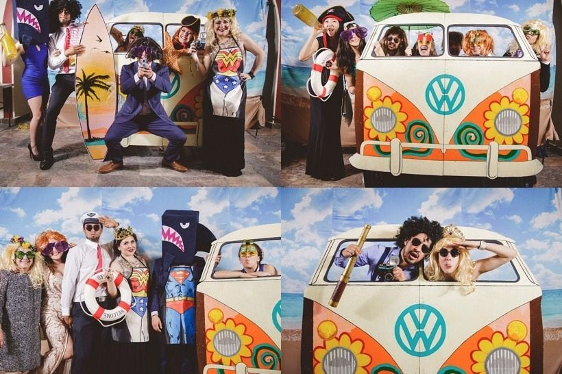 Furgo hippie photocall