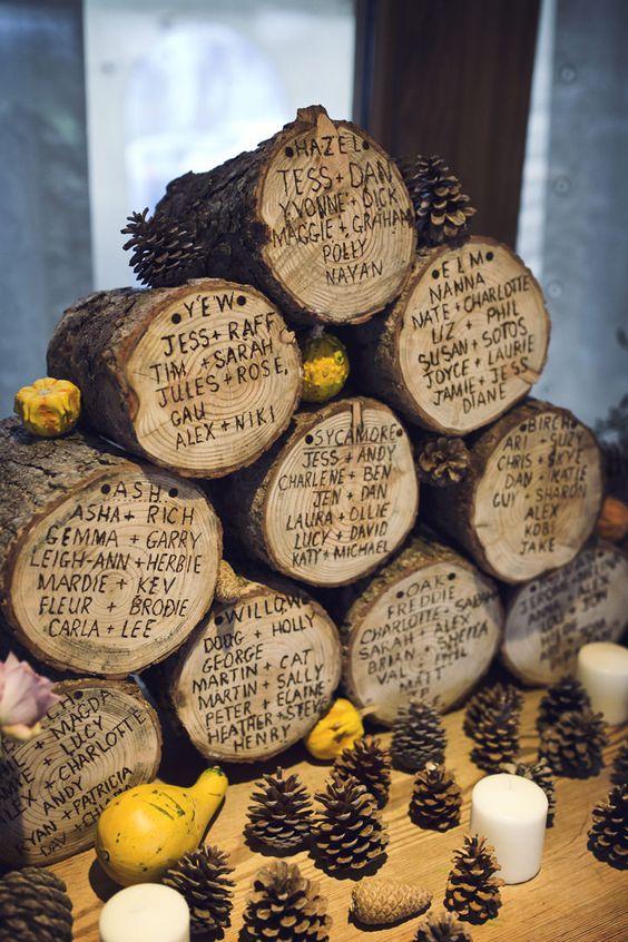 Nombres invitados troncos