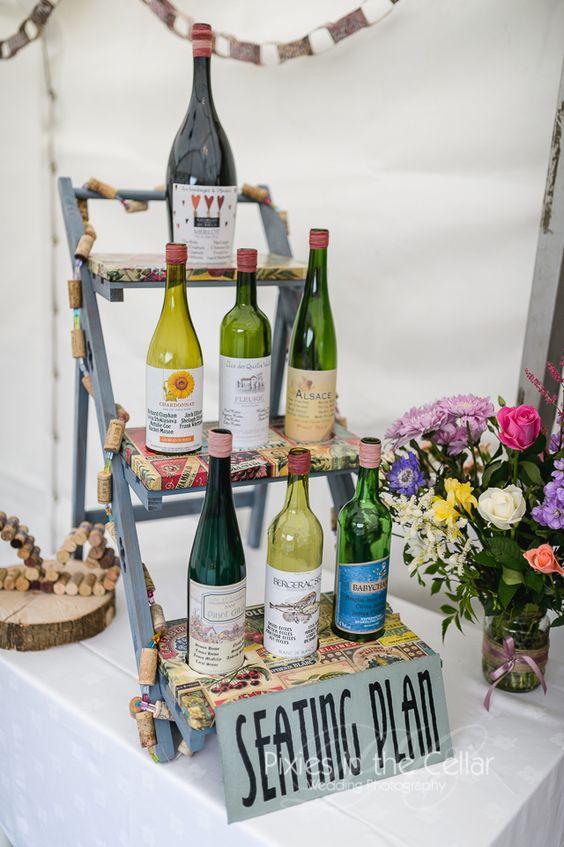 Seating plan botellas