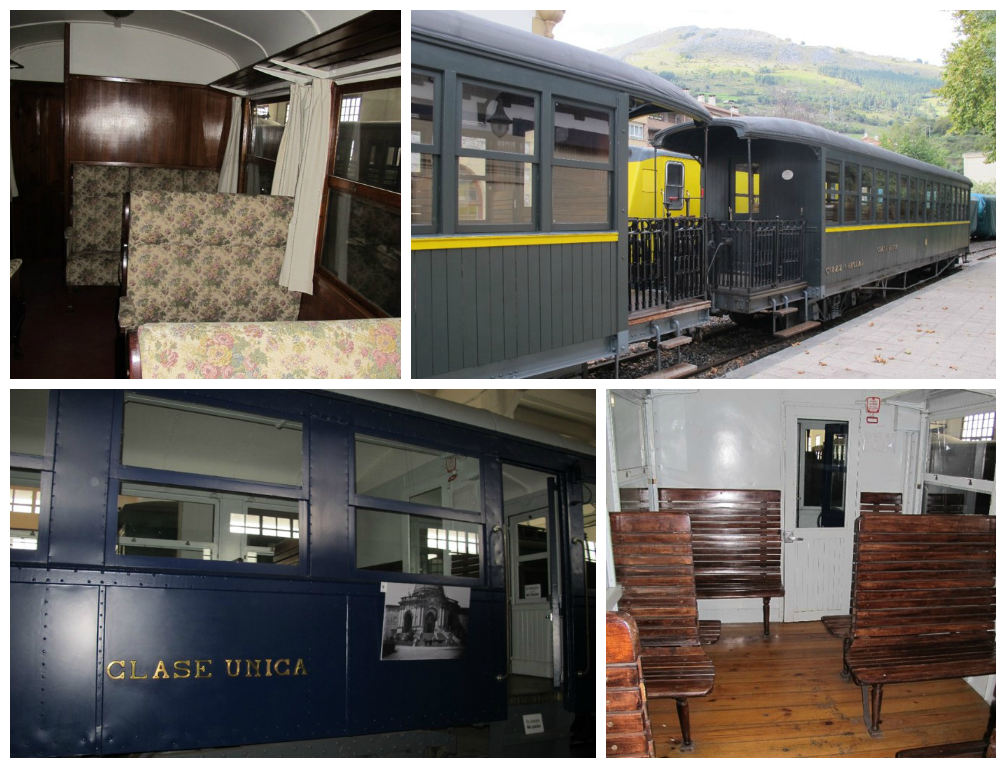 Trenes Museo Vasco del Ferrocarril