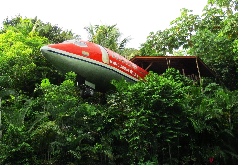 Boeing 727 Hotel Costa Verde Costa Rica